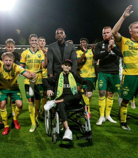 Overleden ADO-fan Dani Ebben had een leeuwenhart: 'Zonder strijd geen overwinning'