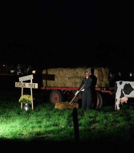 Boerderijverlichting Markelo: een autorit van 25 kilometer vol vermaak, verbazing en bewondering langs negen buurtschappen