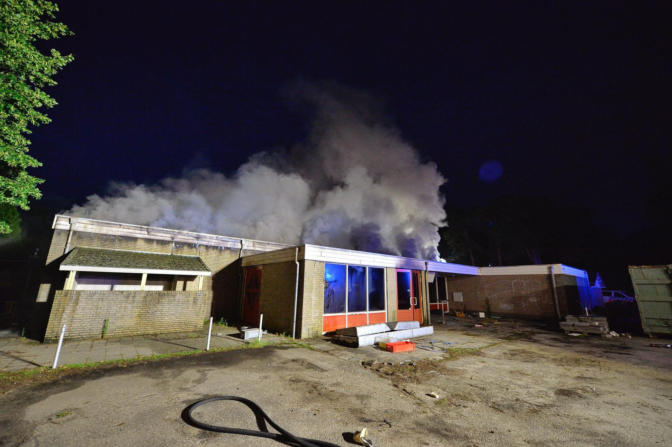 Brand horecapand De Zwarte Bergen Luyksgestel.