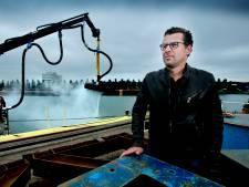 Olie-opruimer Hebo heeft de Rotterdamse haven bijna schoon