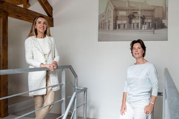 Charlotte Stegeman (links), directeur van The Chain Company en Michelle Ekkelkamp, manager van het Expad Center East Netherlands.