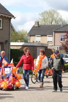 Maren-Kessel kleurt oranje op 50ste verjaardag Willem-Alexander