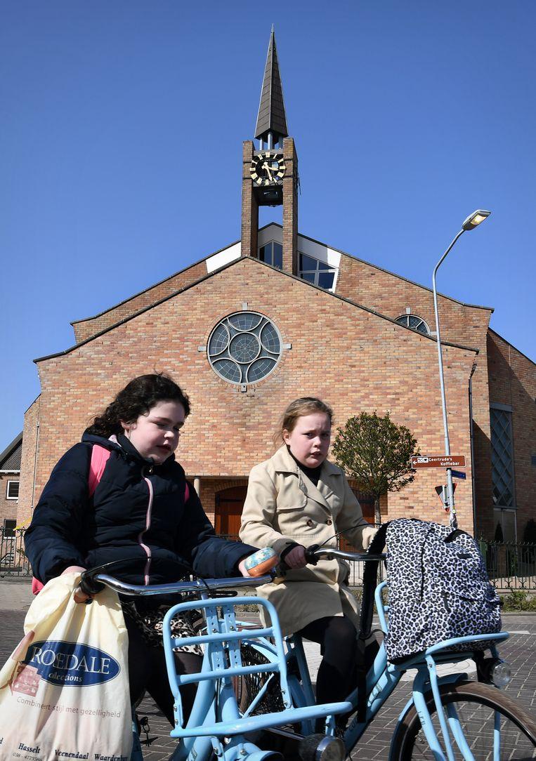 Opheusden: Kerkgebouw Gereformeerde Gemeenten in Nederland (GGiN). Beeld Marcel van den Bergh / de Volkskrant