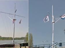 Schippersmast op Sterreschans in Doornenburg