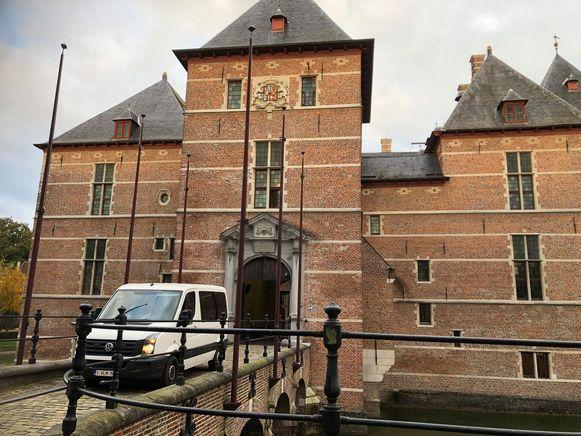 Het gerechtsgebouw in Turnhout.