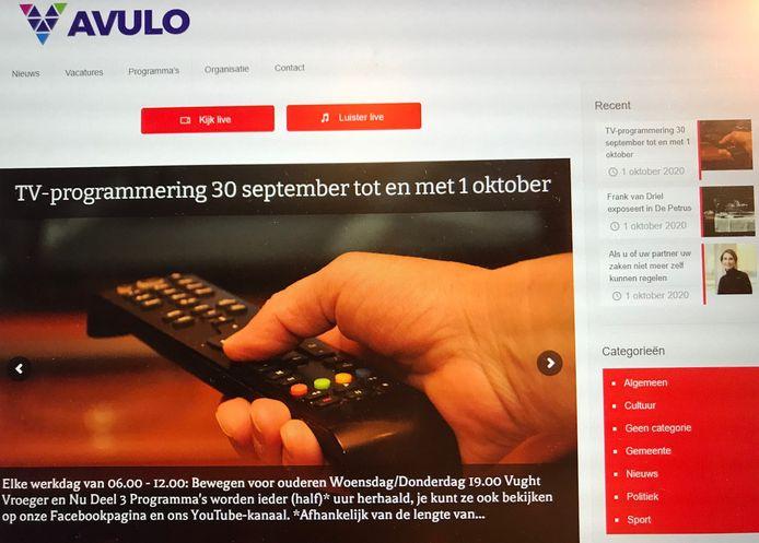 Screenshot van Avulo.