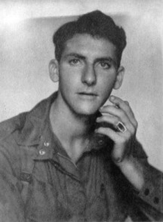 Francis Keefe in 1943.