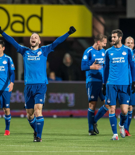 PSV pakte pas vier 'bonuspunten' in blessuretijd
