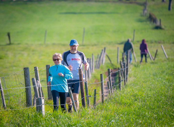 De Hoeseltse Kluis Run ging afgelopen paasvakantie voor de eerste keer door.