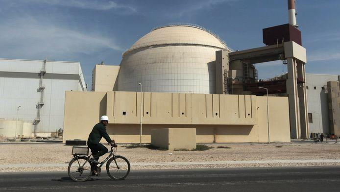 Een kernreactor in Iran.