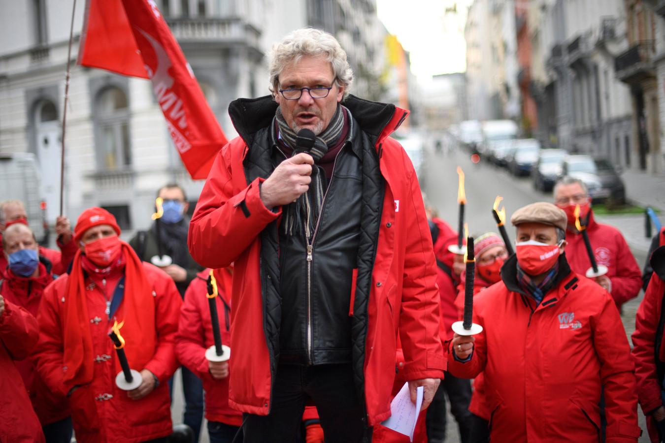 Thierry Bodson, président de la FGTB fédérale et président de la FGTB wallonne
