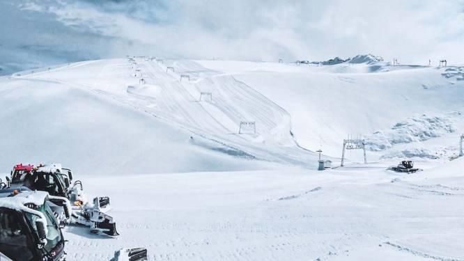 Alpen kleuren wit: eerste sneeuwdump van het nieuwe winterseizoen