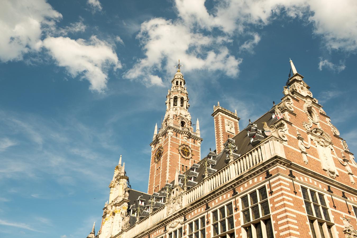 De universiteitsbibliotheek van de KU Leuven.