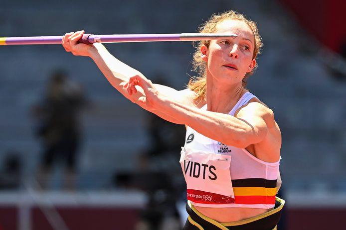 Noor Vidts steeg boven zichzelf uit in Tokio. Een medaille zat er net niet in, maar in Parijs behoort ze tot de topfavorieten als ze zich kan blijven ontwikkelen.