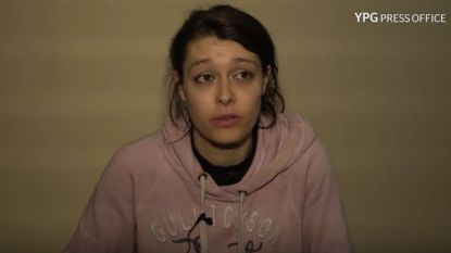 """Opgepakte IS-jihadiste vertelt in filmpje hoe het met haar gaat: """"Nee, ik word hier niet gemarteld"""""""