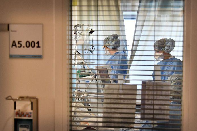 Coronazorg in ziekenhuis MST in Enschede.