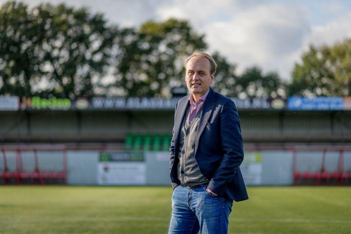 Voorzitter Gert-Jan Klanderman van Bon Boys wil met enkele clubs een minicompetitie opzetten zodra de coronamaatregelen worden versoepeld.