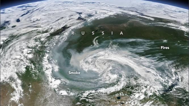 Nooit geziene natuurbranden teisteren Noordpool