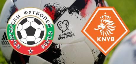 LIVE: Oranje op jacht naar drie punten in Bulgarije