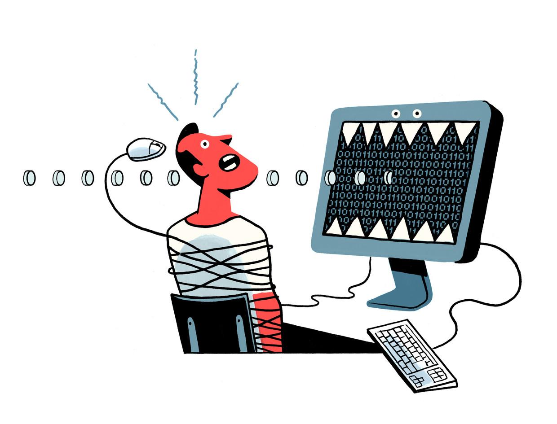 'Het systeem met paswoorden is enorm onveilig, de banken laten hun klanten gewoon bestelen' Beeld Jeroen Los