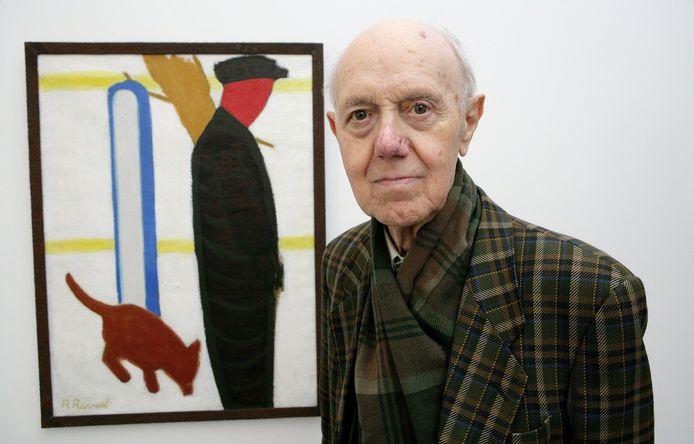 Van het werk van wijlen Roger Raveel loopt momenteel een indrukwekkende overzichtstentoonstelling in Bozar in Brussel.