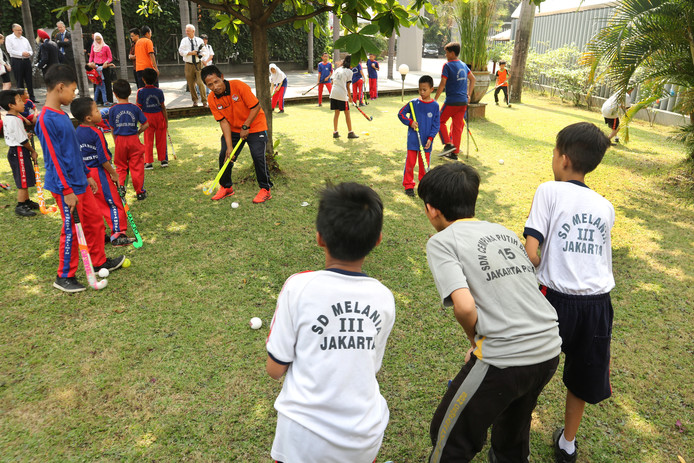 'Er is veel potentie voor hockey in Indonesië', zegt Paul Veldhuijzen van HC Feijenoord.