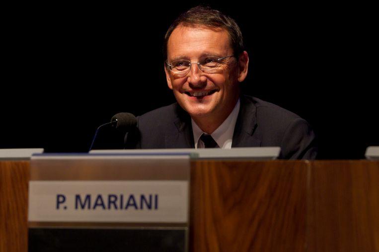 Ex-CEO van Dexia Pierre Mariani Beeld BELGA
