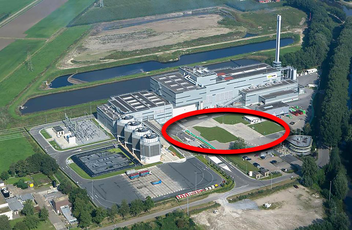 Drie jaar geleden lanceerde Suez ReEnergy het plan om de Biomineralen-fabriek op het middenterrein van de vuilverbrander aan de Potendreef te situeren. Dat plan heeft het niet gehaald.