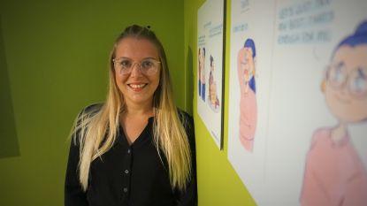 """Cartooniste Prudence Geerts (27) wil """"zware onderwerpen op lichte manier brengen"""" met tijdelijke expo in Käthe Kollwitz Museum"""