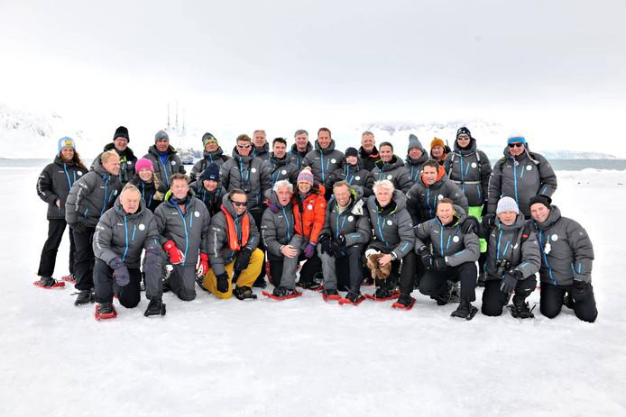 Bernice Notenboom ging met managers van 25 bedrijven naar Spitsbergen.