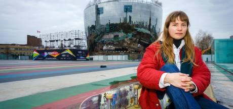 Oprukkende grasperkjes en fonteintjes verjagen skaters uit het Museumpark