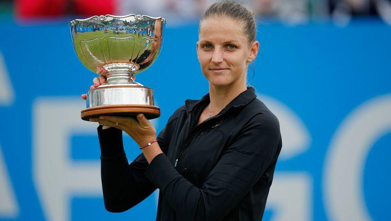 Karolina Pliskova. Beeld Photo News