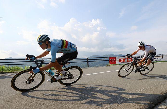 Wout van Aert pakte de zilveren medaille bij het wegwielrennen op de Olympische Spelen van 2021.