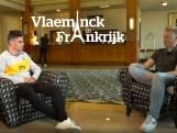 """Wout van Aert in exclusieve babbel met Stijn Vlaeminck: """"Tot en met de tijdrit is geel een doel voor mij"""""""