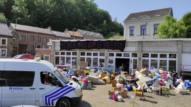 Gentse Flikken steken handen uit de mouwen in rampenregio