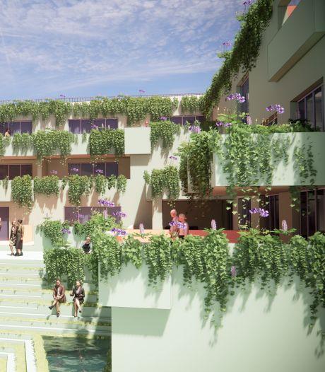 Woningen met 'hangende tuinen' op Markt Schijndel zijn in trek