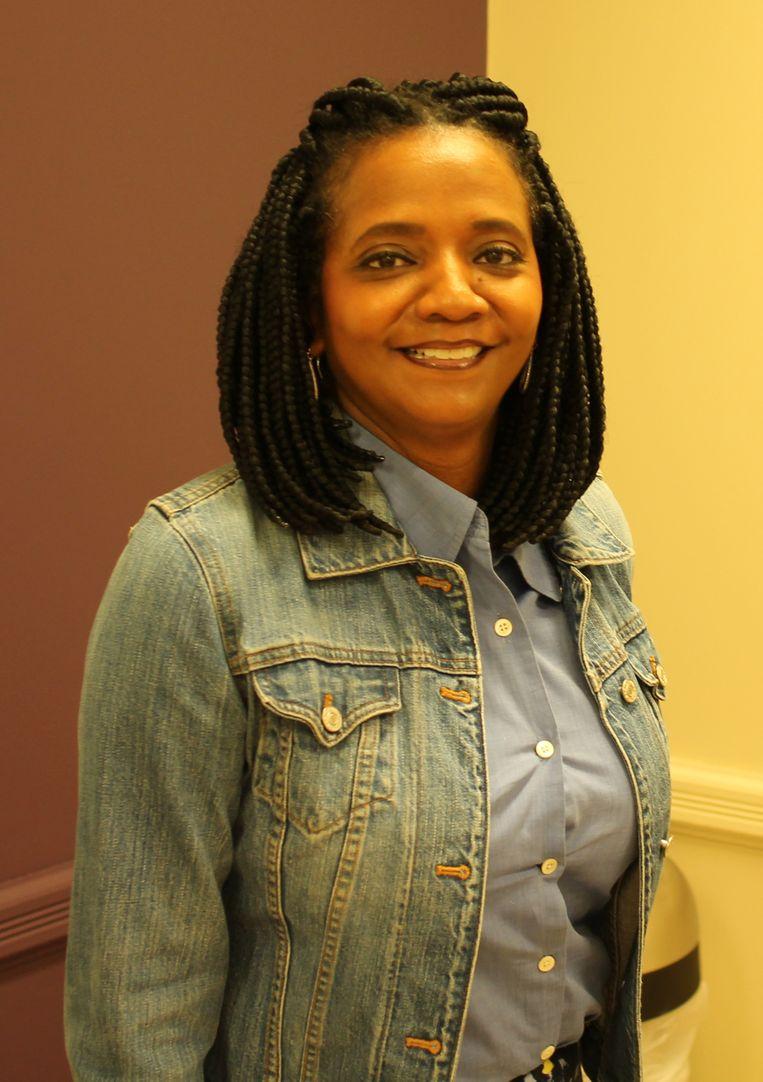 Vanessa Hall-Harper, raadslid voor Noord-Tulsa.  Beeld Seije Slager
