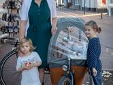 Fietsen met drie kinderen naar Bennekom