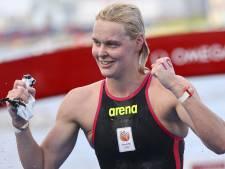 Van Rouwendaal pakt zilver na spannende race in open water