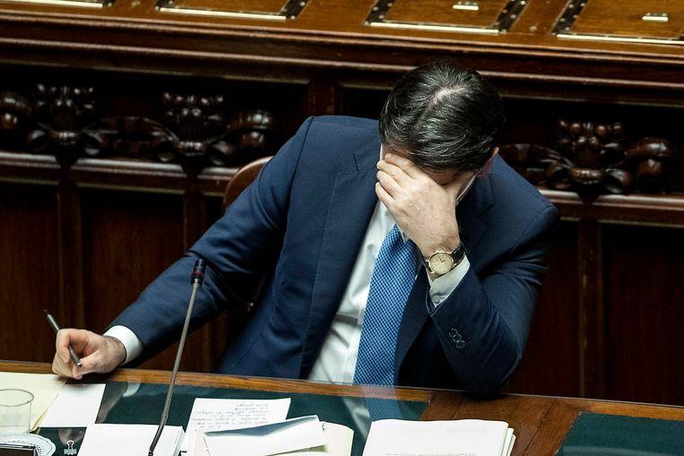 Premier Giuseppe Conte. Beeld EPA