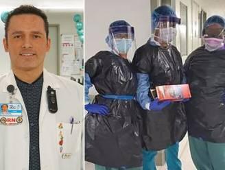 Verpleger (48) bezwijkt aan coronavirus in ziekenhuis New York waar medewerkers vuilniszakken moeten dragen als bescherming