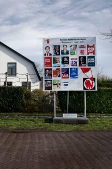 Buren stopt met plaatsen van verkiezingsborden
