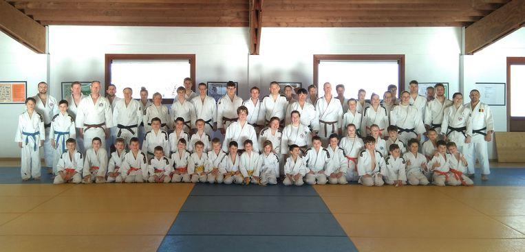 De Japanse judomeester Eiji Kikuchi (4e DAN) kwam op bezoek in Tielt