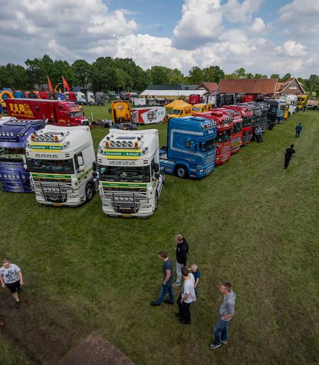 Pronken en praten op Truck Treffen in Geesteren