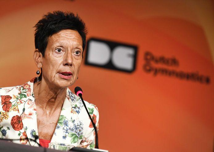 KNGU-voorzitter Monique Kempff.