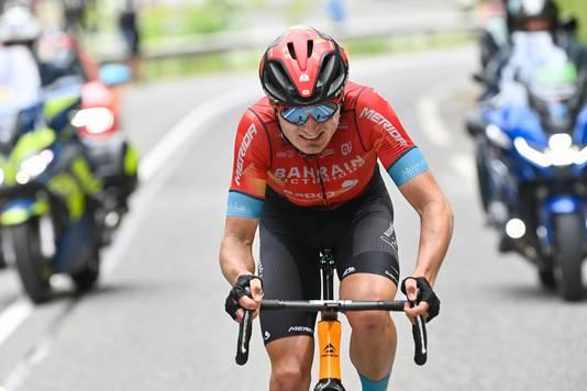 Mark Padoen op weg naar de overwinning.