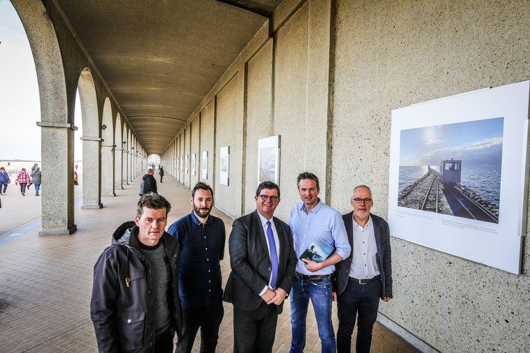 Arnout Hauben kwam de foto's en het boek voorstellen samen met Ruben Callens en Philippe Niclaes