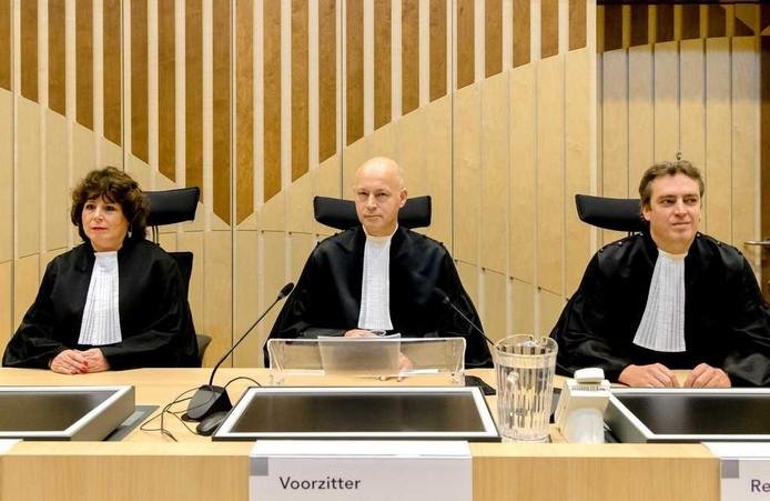 De rechtbank bij Schiphol die het vonnis velde in de zaak tegen Wilders.
