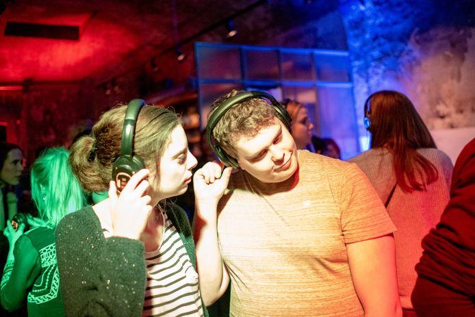 PUURS SINT-AMANDS Silent Disco in fortcafé De Batterie