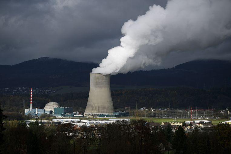 De kerncentrale van Gösgen in Noord-Zwitserland. Beeld AFP